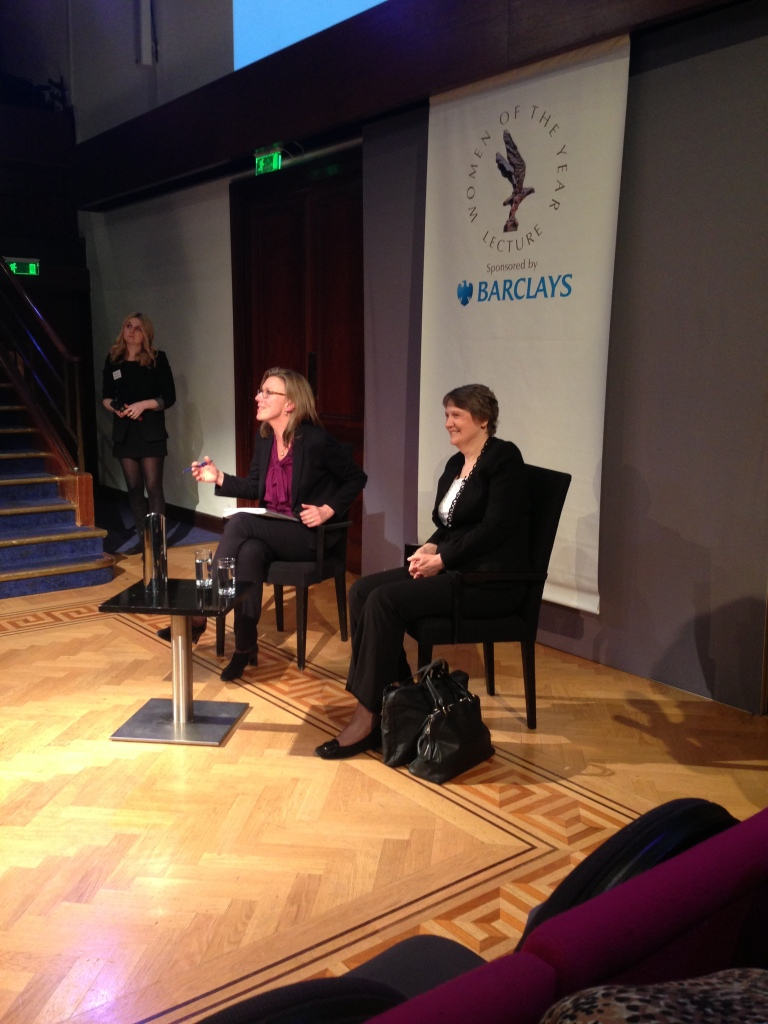 Helen Clark at the Barclays Women of the Year Lecture