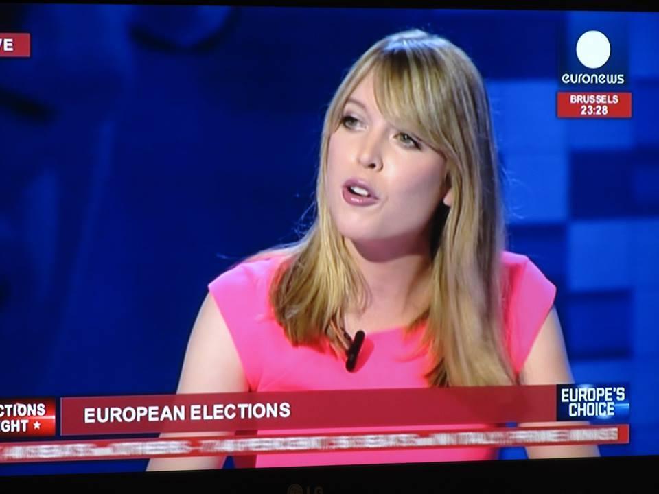 Jenny de Nijs, Euronews Election Night Coverage
