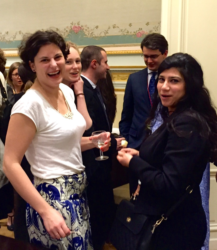Leadarise participants enjoy the hospitality of U.S. Mission to EU
